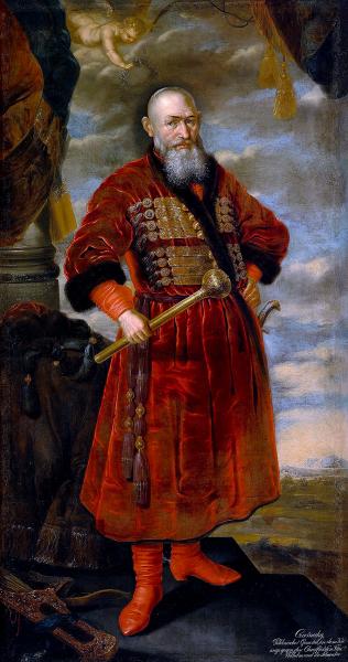 Czarniecki lisowczykiem? Obraz autorstwa Brodero Matthisen, z roku 1659.