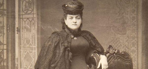 """Teodora Matejko. Zwykle to ona była jedyną modelką męża. W przypadku """"Chrztu"""" było jednak inaczej. Dlaczego?"""