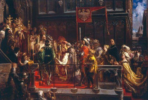 """""""Chrzest Władysława Warneńczyka 18. II. 1425"""". Zapomniane dzieło mistrza."""