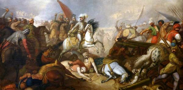 Kolejna w XVII stuleciu bitwa pod Chocimiem i kolejny sukces Rzeczpospolitej. Obraz pędzla Franciszka Smuglewicza.