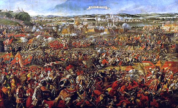 Bitwa pod Wiedniem - jeden z największych polskich triumfów w historii. Autor nieznany.
