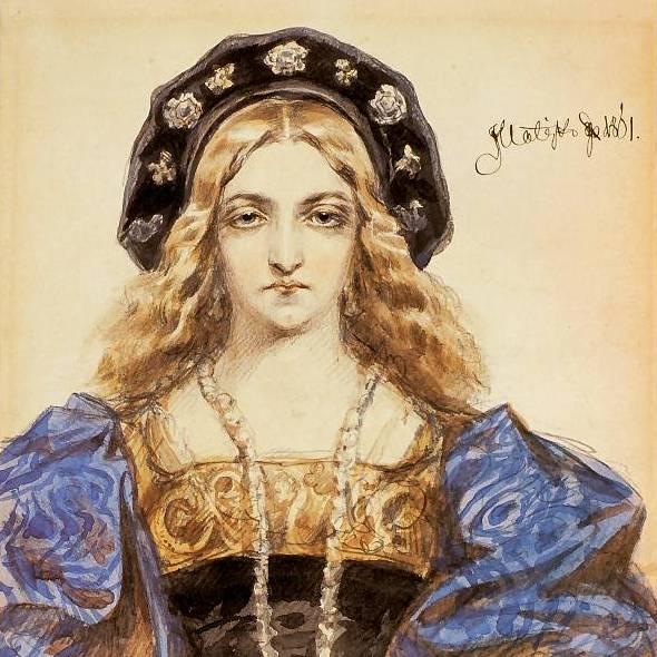 Bona Sforza, Jan Matejko