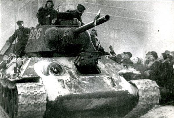 W dniach 24-26 stycznia 1945 roku czołgi 1. Brygady Pancernej im. Bohaterów Westerplatte wspierały radziecką piechotę w walkach o Bydgoszcz. Dla Weissenberga był to niestety ostatni bój.