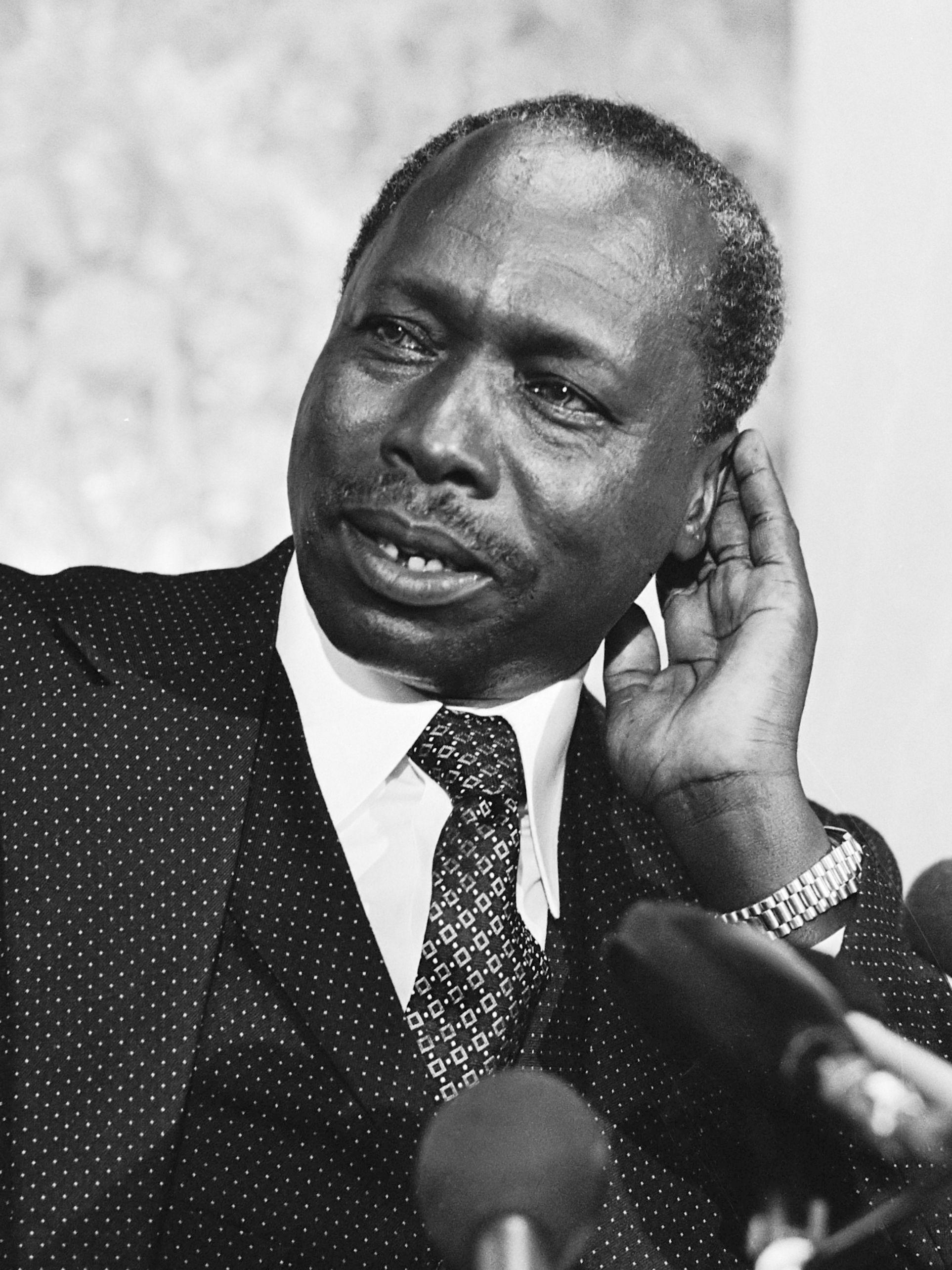 Depesze z życzeniami dla papieża płynęły z całego świata. Również od prezydenta Kenii, od Daniela Arap Moi.