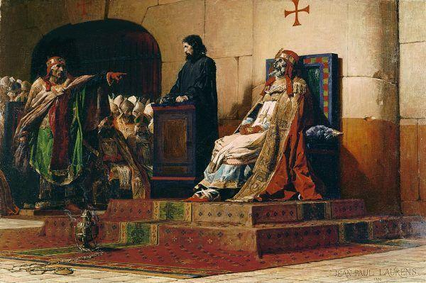 Stefan VI zorganizował najbardziej makabryczny spektakl w historii papiestwa - sąd nad zwłokami swojego poprzednika, Formozusa.