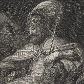 XIX-wieczne wyobrażenie Mieszka II autorstwa Franciszka Smuglewicza.