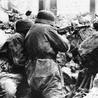 W walkach o Monte Cassino setki Polaków walczyło w mundurach Wehrmachtu. Zdjęcie poglądowe.