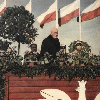 Ignacy Mościcki przyjmuje defiladę