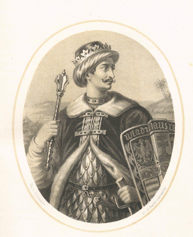 Większość historyków korzystających z łacińskich oryginałów Roczników Długosza uważa, że kronikarz wcale nie sugerował homoseksualizmu Warneńczyka. Na ilustracji wyobrażenie władcy autorstwa A. Lessera.