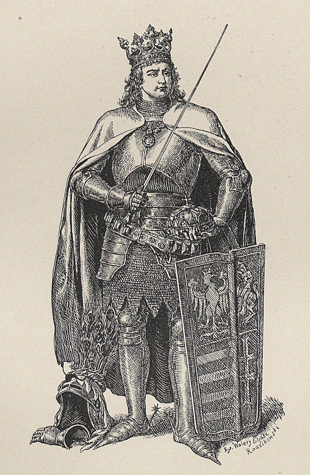 Opisując Warneńczyka Długosz poza jednym wyjątkiem ukazuje władcę w jak najlepszym świetle. Na ilustracji portret monarchy autorstwa Walerego Eljasza-Radzikowskiego.