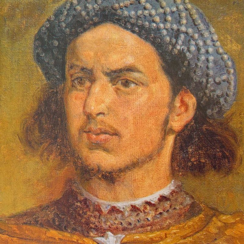 Śmierć Władysława Warneńczyka pozostaje jedną z najbardziej tajemniczych w historii Polski. Na ilustracji podobizna króla pędzla Jana Matejki.