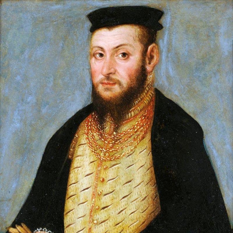 Portret Zygmunta II Augusta, warsztat Lucasa Cranacha.