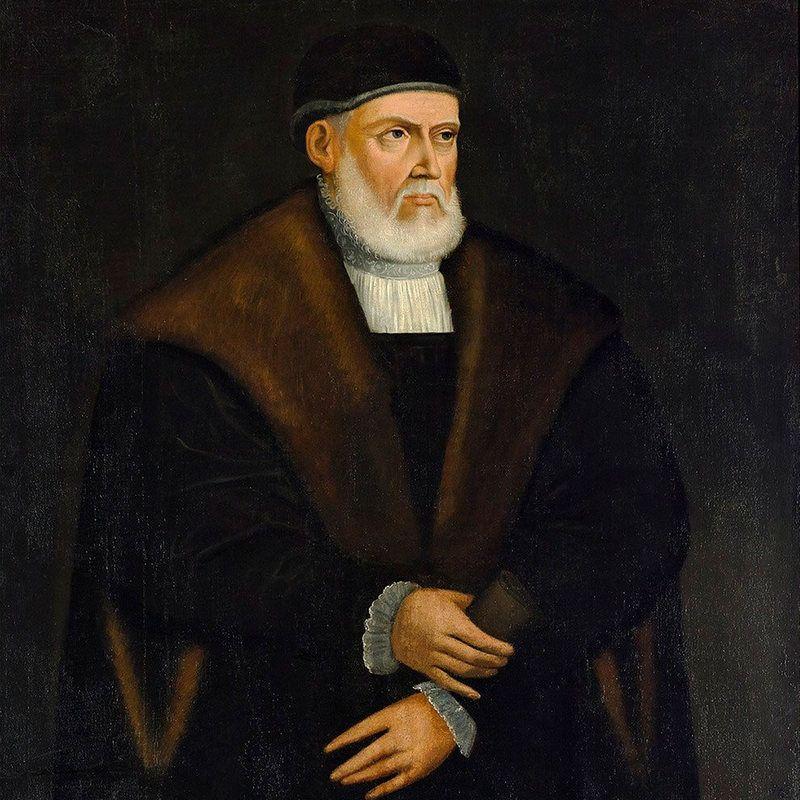Portret Zygmunta Starego autorstwa najprawdopodobniej Marcina Ostrowskiego.