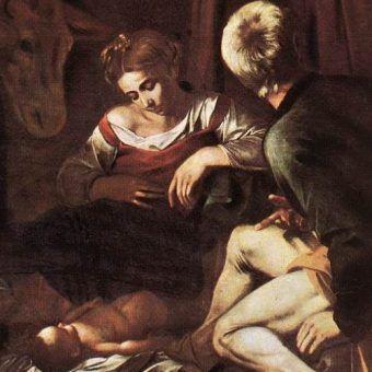 Fragment zaginionego dzieła Caravaggia.