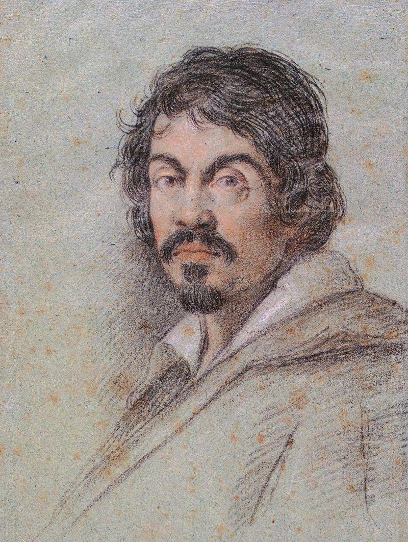 Caravaggio na portrecie pędzla Ottavio Leoniego.
