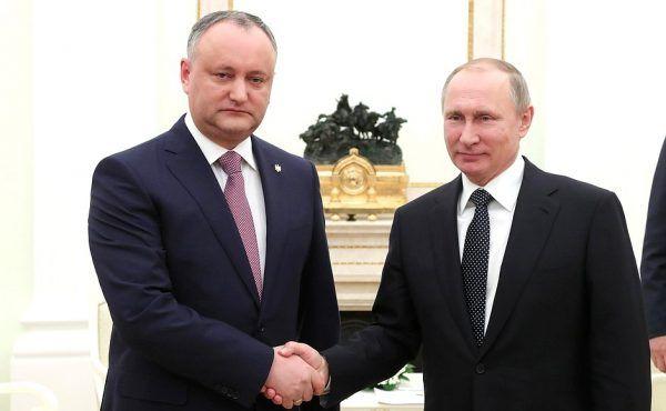 Igor Dodon jest częstym gościem na Kremlu.
