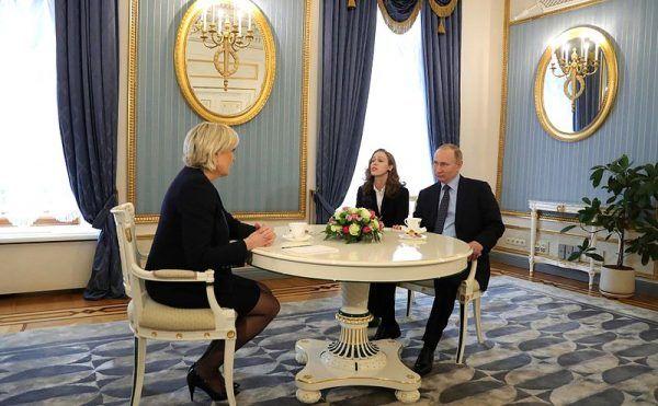 Marine Le Pen nie ukrywa swoich bliskich stosunków z Rosją.