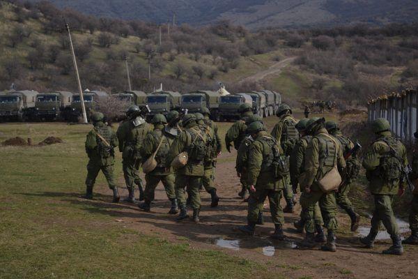 Według Władimira Putina na Krymie nie walczą żołnierze rosyjscy, ale zielone ludziki.