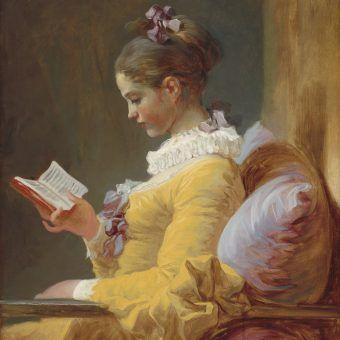 """Jean-Honoré Fragonard """"Czytelniczka"""". Czyżby podczas lektury pamiętników Casanovy?"""