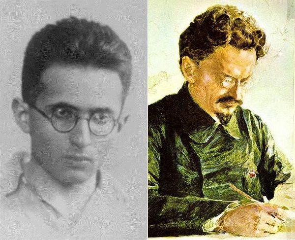 Matwiej Bronstein (po lewej) miał pecha ponieważ nazywał się tak samo jak zapiekły wróg Stalin Lew Trocki (właściwie Lew Dawidowicz Bronstein).