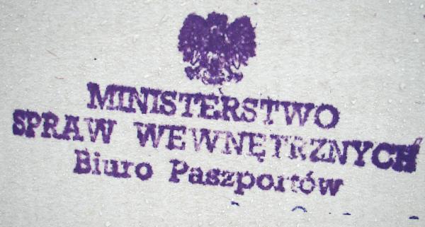 Z hakiem w życiorysie nie było co liczyć na pozytywne rozpatrzenie wniosku paszportowego.