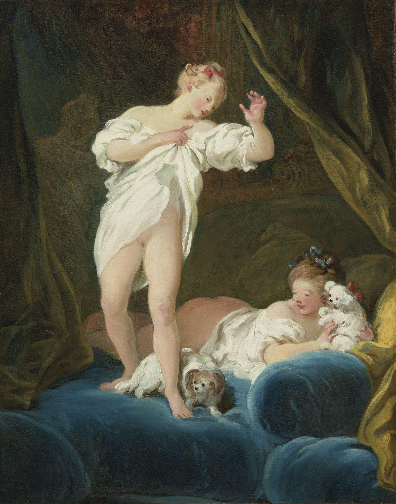 "Casanovie zdarzały się randki we troje. Na obrazie ""Przyjaciółki"" Jean-Honoré Fragonarda."