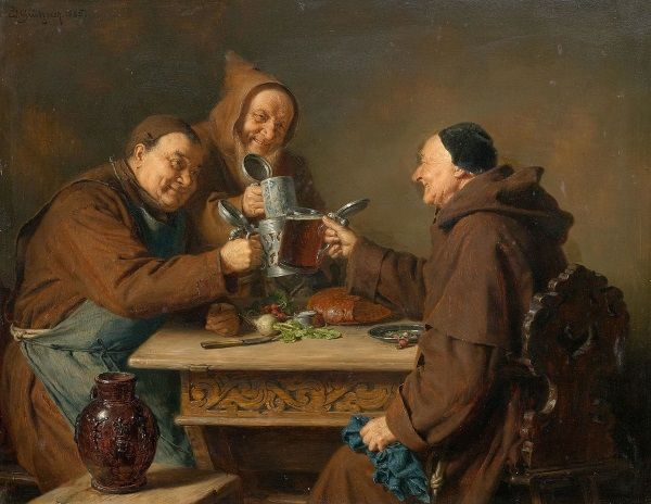 Piwo pijali i królowie i prostaczkowie, nie wspominając o duchownych.