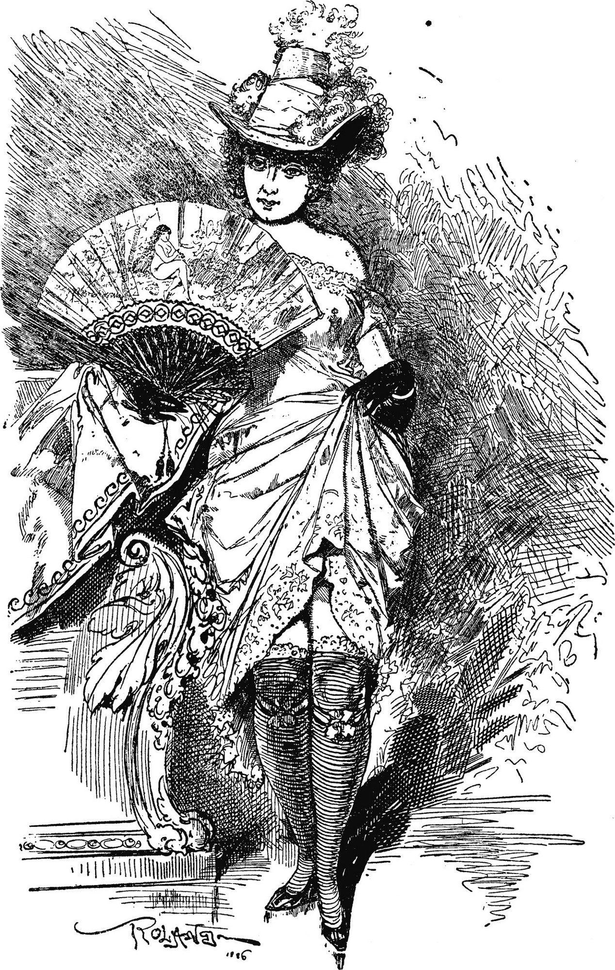 Prostytutki w Londynie kusiły i biednych, i bogatych.