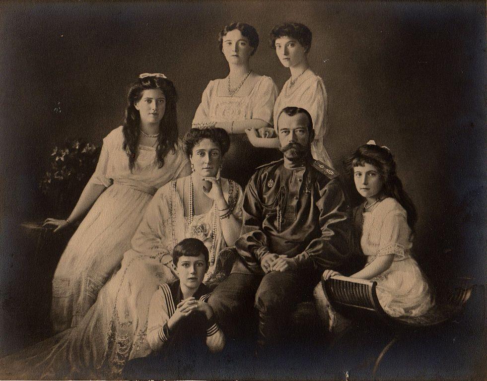 Fotografia rodziny Romanowów, ok. 1912 r.