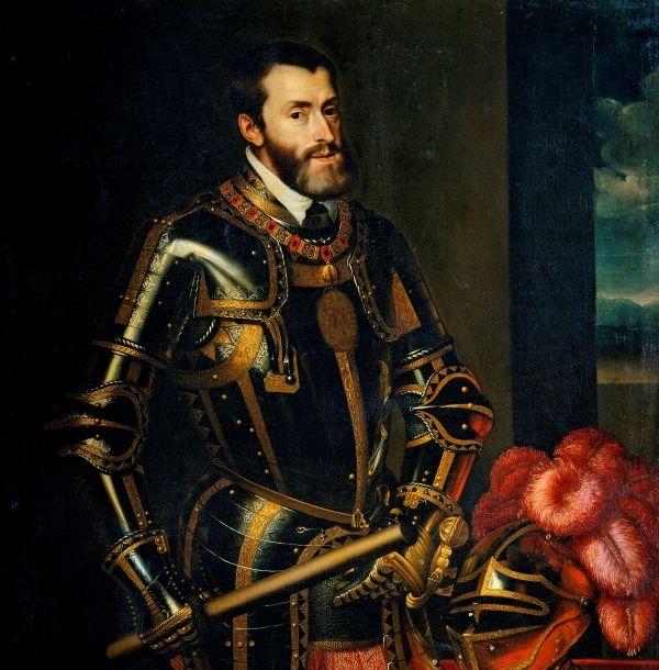 Król Hiszpanii, Karol Habsburg.