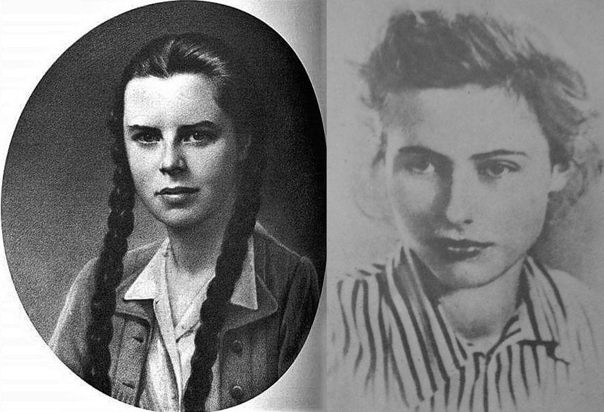 Krystyna Wańkowicz (z lewej) i Anna Wajcowicz (z prawej).