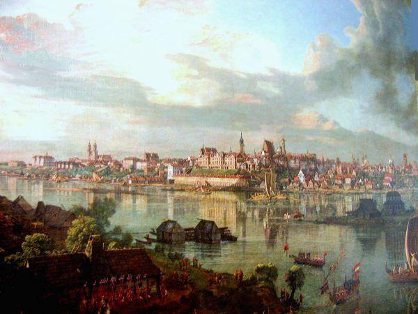 Kiedy Casanova przybył do naszej stolicy jego finanse były w opłakanym stanie. Może to przeszkodziło mu w znalezieniu odpowiedniej kochanki? Na obrazie XVIII-wieczna Warszawa pędzla Bernardo Belotto.