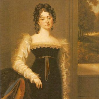 Casanovę odrzucała brzydota polskich kobiet czy może... ich zaradność i inteligencja? Na obrazie Zofia Zamoyska najmłodsza córka Izabeli Czartoryskiej.