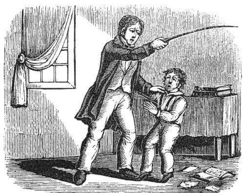 Prywatni nauczyciele nie zawsze byli łagodniejsi od tych pracujących w szkołach publicznych.