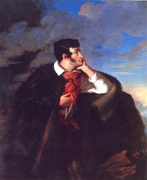 Sławny portret Mickiewicza autorstwa Walentego Wańkowicza oddaje romantyczną duszę poety i narodowego wieszcza...