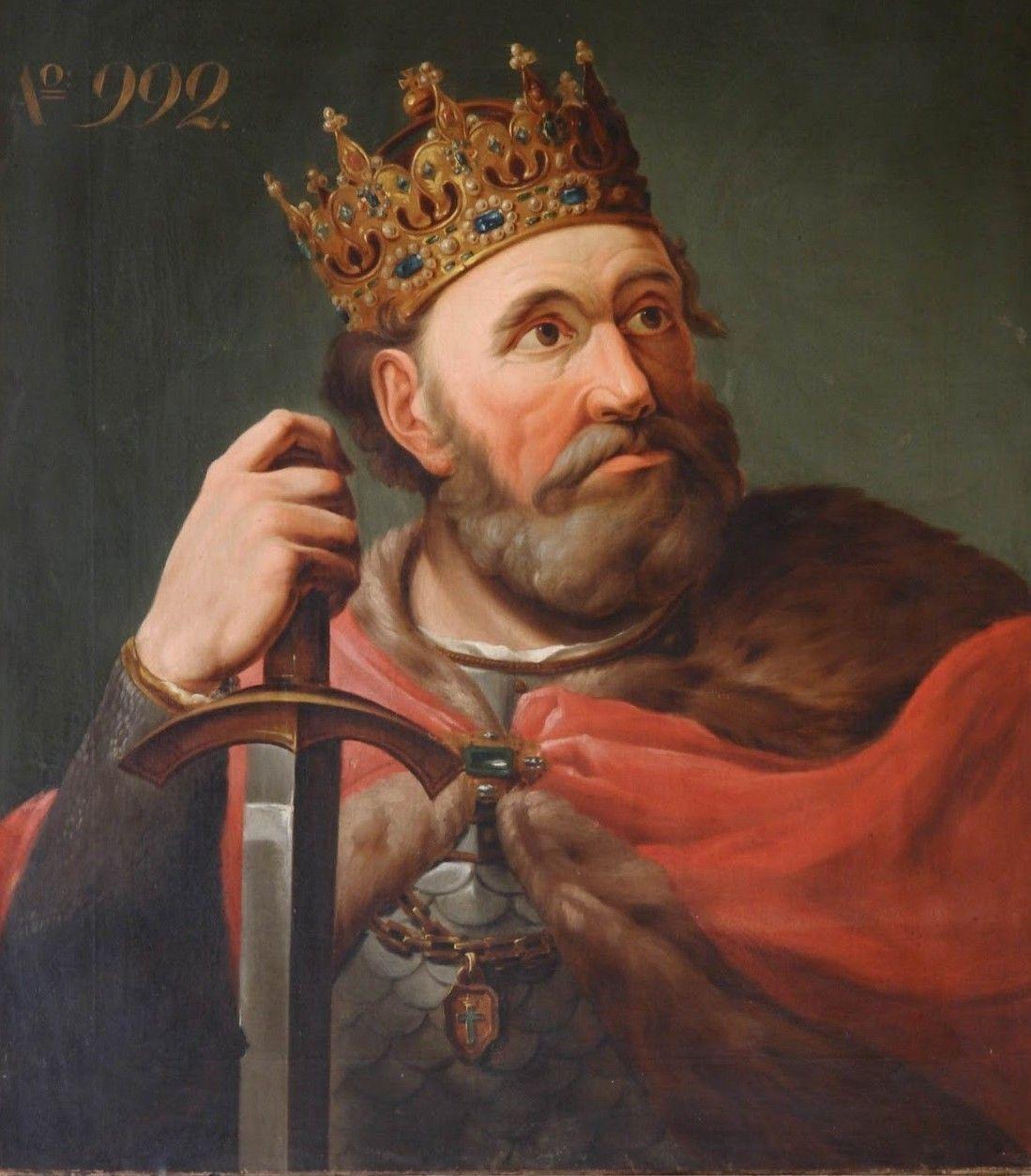 Pamięć o czynach Chrobrego i jego drużyny przetrwała 1000 lat. Na ilustracji portret władcy autorstwa Marcello Bacciarelliego.