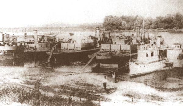 Okręty Dnieprowskiej Flotylli Wojennej w 1919 roku