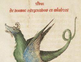 "Ilustracja z księgi ""Liber Floridus"" Lamberta z Saint-Omer, ok. 1460 r."
