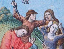 Średniowieczna Anglia zdecydowanie nie była bezpiecznym miejscem.