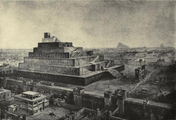 Babilon na ilustracji Williama Simpsona. Inspiracją autora były XIX-wieczne odkrycia archeologiczne w jednej z najbardziej rozwiązłych stolic w dziejach...