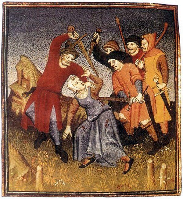 Biednych nie napadano. bo byli na to... zbyt biedni. Idealnymi ofiarami buli dostojnicy świeccy i kościelni.