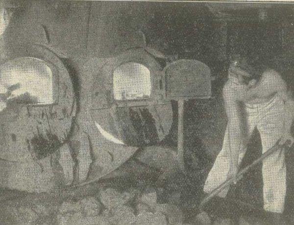 Kotłownia jednej z polskich kanonierek rzecznych. Pod Czarnobylem poziom wody sięgał palenisk kotłów.