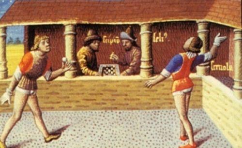 Tenis w wersji archaicznej.