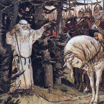 Wiktor Wasniecow, Książę Oleg spotykający czarownika, 1899