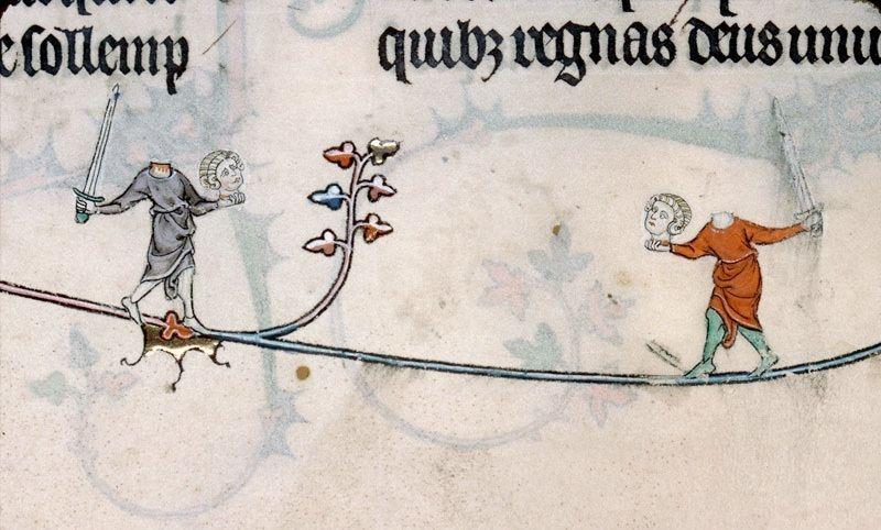 Co dwie głowy... Brewiarz Renauda de Bar, Francja, ok. 1302-1303 r.