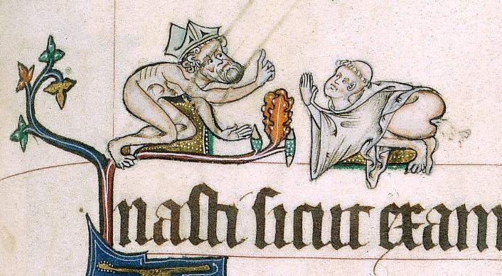 Wstydź się, miniaturzysto. Psałterz z Gorleston, ok. 1310 r.