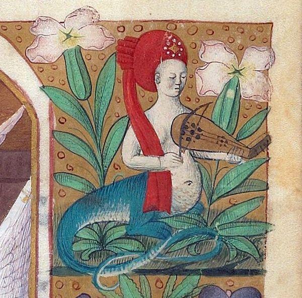 W sobotnie popołudnie każda kobieta zasługuje na spokój. Godzinki, Francja, między 1450 a 1475 r., zbiory Beinecke Library.