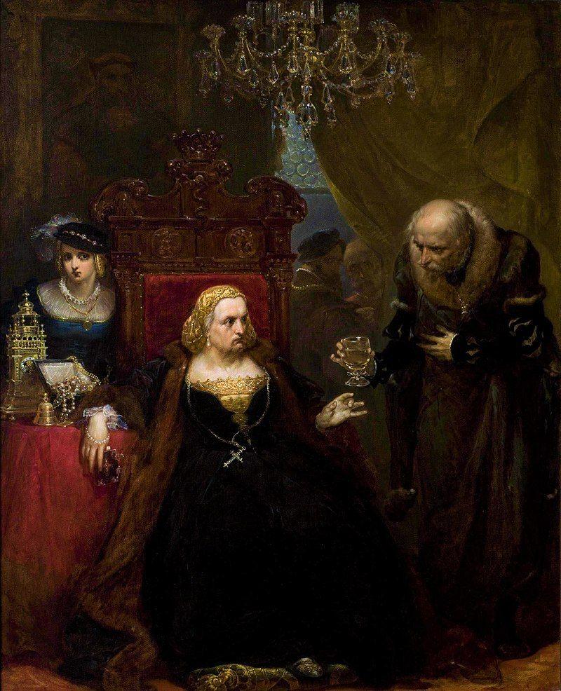Konflikt Bony i Zygmunta Augusta spowodował wyjazd królowej wraz z córkami na Mazowsze. Tam młode Jagiellonki powoli więdły w staropanieństwie, czekając na decyzje króla. Na ilustracji obraz Jana Matejki przedstawiający scenę otrucia Bony.
