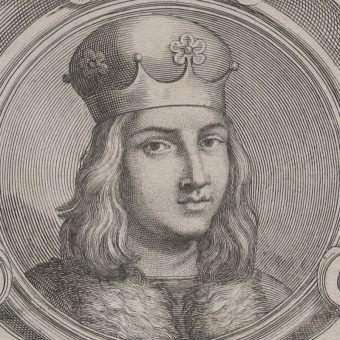 XVIII-wieczny wizerunek Aleksandra Jagiellończyka.