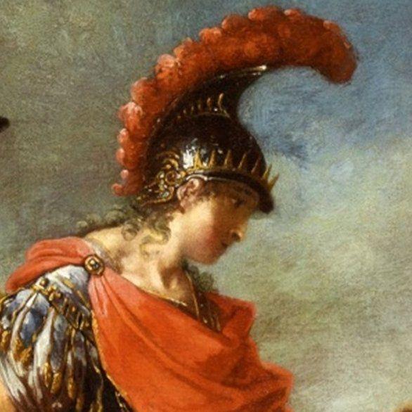 Aleksander Wielki na obrazie Januariusa Zicka.